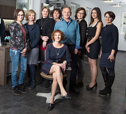 Team Friseur Guthy in Oettingen